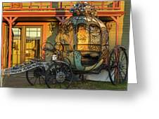 Magic Carriage Greeting Card