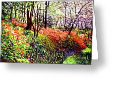 Magic Flower Forest Greeting Card