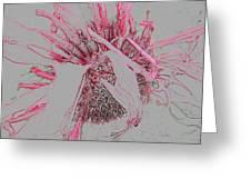 Magic Flower Greeting Card