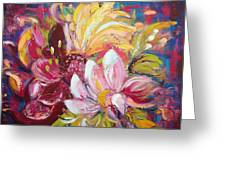 Magic Flowers Greeting Card
