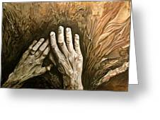 Magic Hands Greeting Card