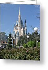Magic Kingdom Castle Greeting Card