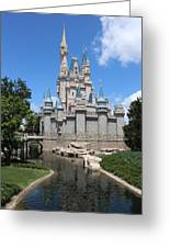 Magic Kingdom Cinderella's Castle #2 Greeting Card