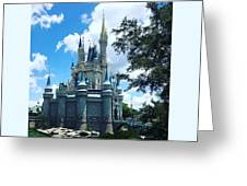 Magic Kingdom Cinderella's Castle #3 Greeting Card