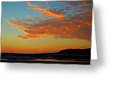 Magic Moments Over Cape Cod Bay Greeting Card