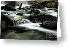 Magic Patagonia Creek Greeting Card