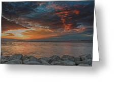 Magic Sky  Greeting Card