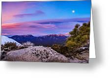 Magic Summit Greeting Card