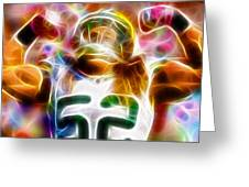 Magical Clay Matthews Greeting Card