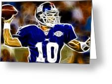 Magical Eli Manning Greeting Card