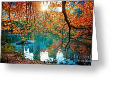 Magical Fall Greeting Card