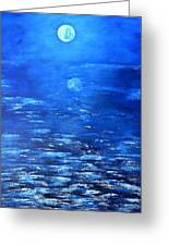Magical Full Moon Greeting Card