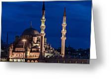 Magical Istanbul Greeting Card