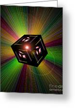 Magical Light And Energy 3 Greeting Card