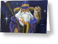 Magical Merlin Greeting Card