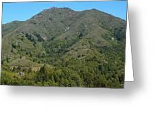 Magical Mountain Tamalpais Greeting Card