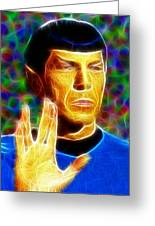Magical Mr. Spock Greeting Card