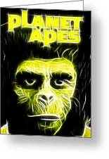 Magical Planet Of The Apes Greeting Card