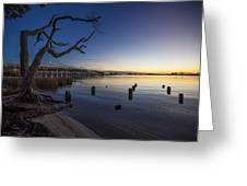 Magical Sunset II Greeting Card
