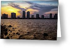 Magical View Greeting Card