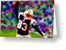 Magical Wes Welker  Greeting Card