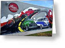 Magnificent Mural Greeting Card