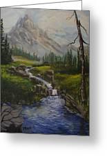 Magnificent Rockies Greeting Card