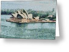 Magnificent Sydney Opera House Greeting Card