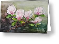 Magnolia Blossom - Painting Greeting Card
