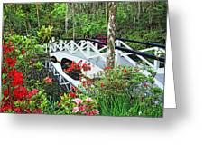 Magnolia Bridge Greeting Card