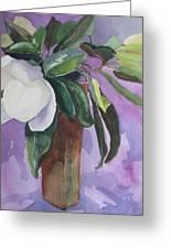 Magnolia Greeting Card by Elizabeth Carr