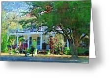 Magnolia Inn Greeting Card