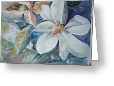Magnolia Magic Greeting Card