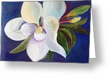 Magnolia Painting Greeting Card
