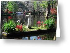 Magnolia Place Pond Greeting Card