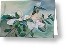 Magnolia Summer Greeting Card