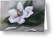 Magnolia Two - 2007 Greeting Card