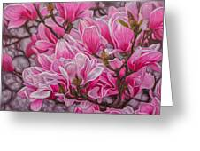 Magnolias 1 Greeting Card