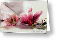 Magnolien .... Greeting Card