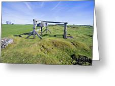Magpie Mine, Mine, Lead Mine, Derbyshire, Peak District, Mining, Greeting Card