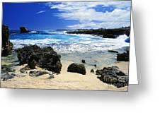 Mahaulepu Koloa Beach Greeting Card