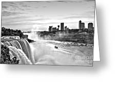 Maid In The Mist Greeting Card