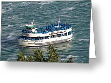 Maid Of The Mist 1 Greeting Card