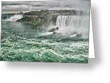 Maid Of The Mist 8971 Greeting Card
