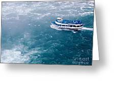 Maid Of The Mist American Side  Greeting Card