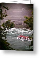 Maid Of The Mist Canadian Boat Greeting Card
