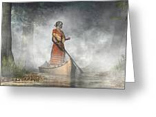 Maid Of The Mists Greeting Card