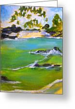 Maihai'ula North Beach Greeting Card