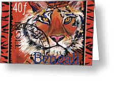 Mail Tail Greeting Card by Debbie McCulley