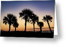 Main Beach Sunrise  Greeting Card